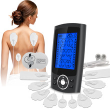 24 Modes Electrical EMS Muscle Stimulator Electrodes Pads Compex Shock Waves Physiotherapy Tens Machine Pulse Massager For Body
