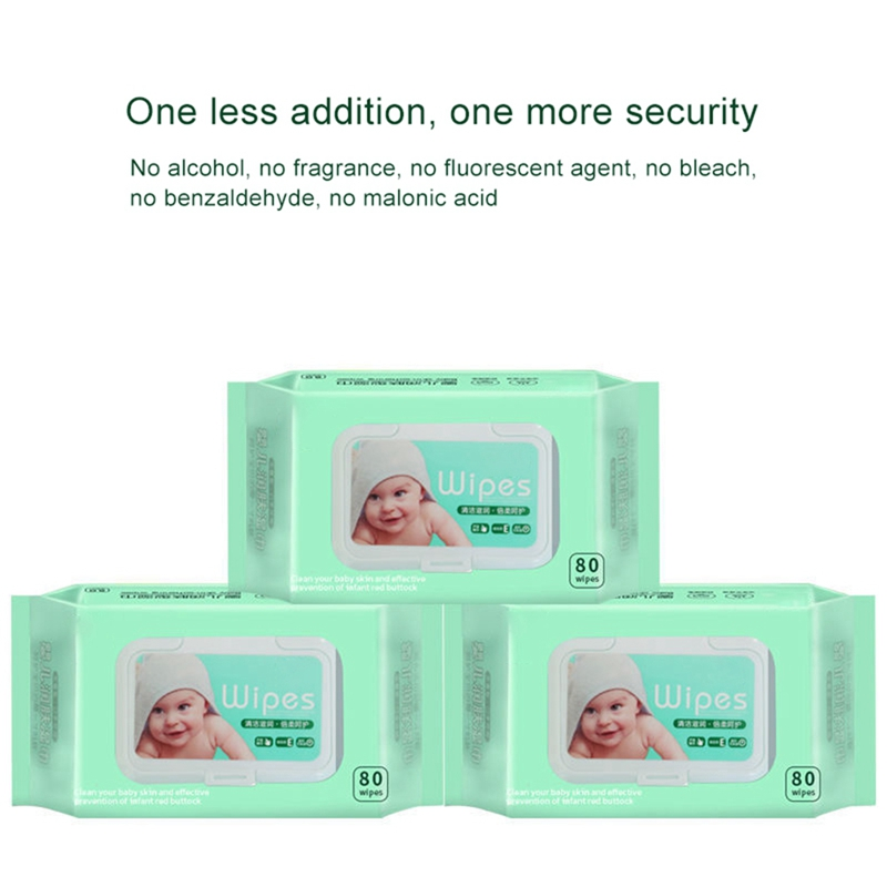 80PCS Portable Professional Alcohol Swabs Pads Wet Wipes 70% Isopropyl First Aid Home Skin Cleanser