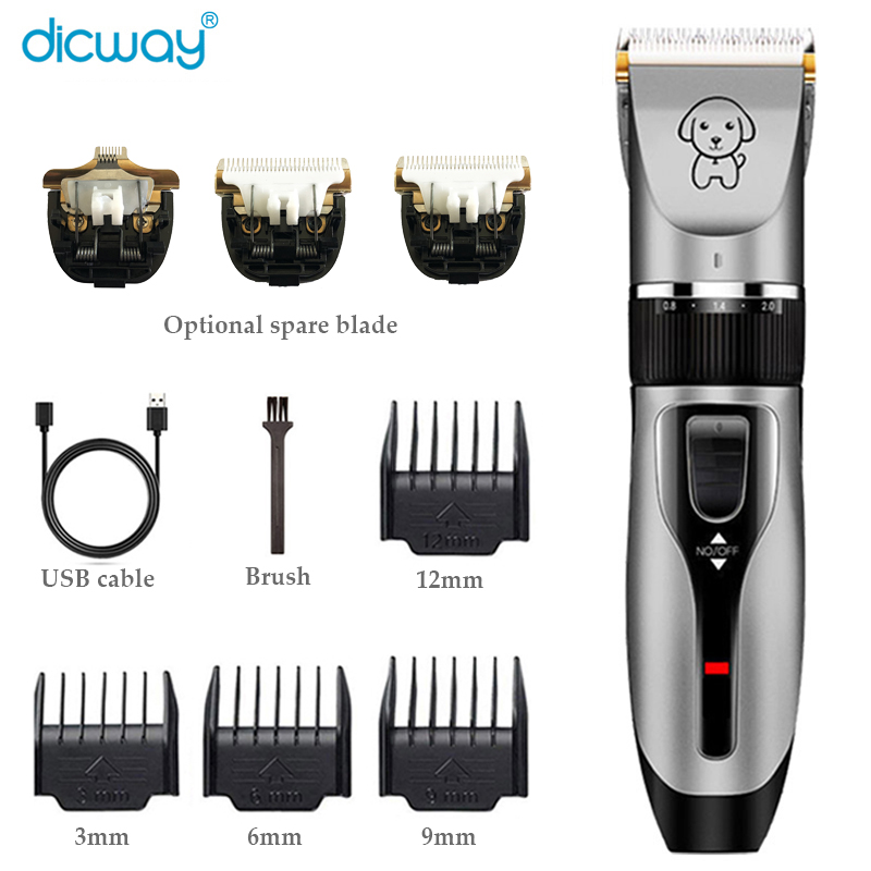 foot shaving device Professional Pet Hair Trimmer Electric Shaver Rechargeable Dog Cat Low-Noise Grooming Shaver Machine Clipper