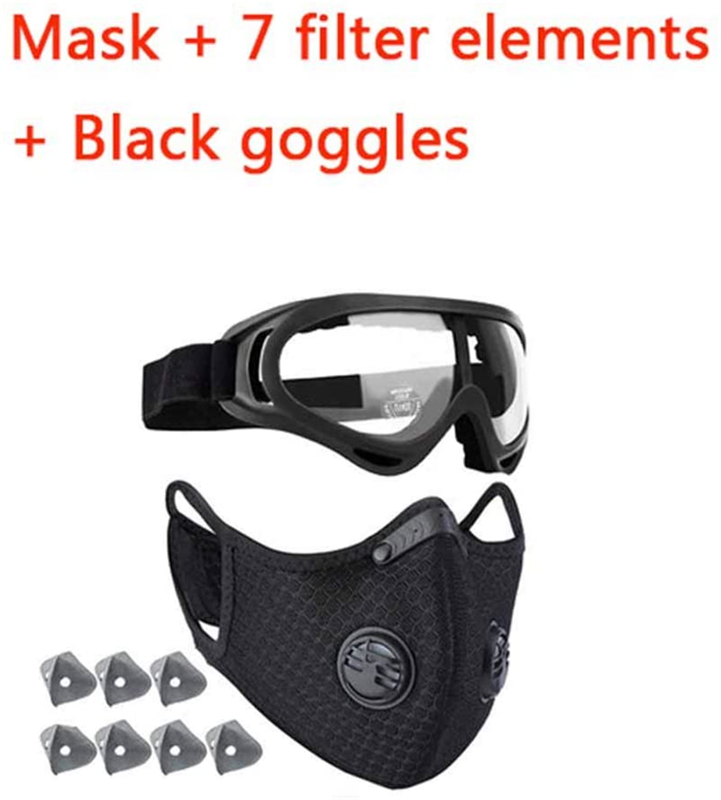 Cycling, With 7pcs Filter Carbon Mountain Bicycle Sport Road Cycling Face  Set Bib SHIPPING TO USA