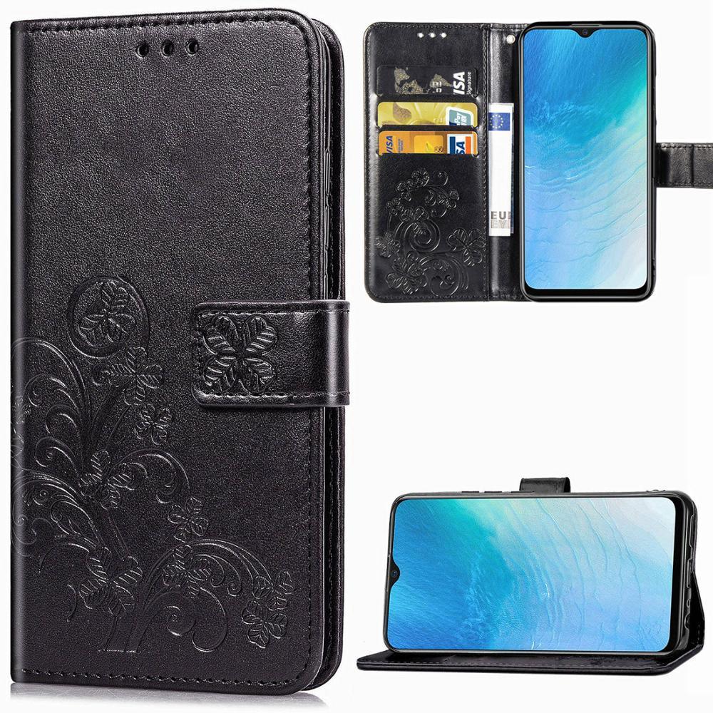 Luxury Leather Flip Case For Vivo V17 Neo Y7S V7 Plus Y12 Y15 Y17 Y53 S1 V11 Pro V9 V5 V11i V15 V 7 9 11 15 Y 12 17 Wallet Cover