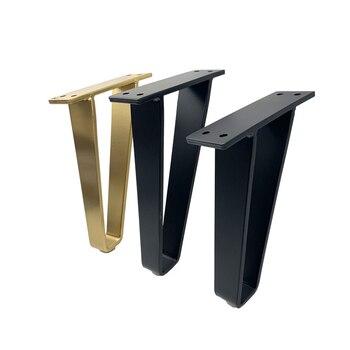 2 قطعة/المجموعة U-شكل أثاث معدني الساق الجدول الساق قوس حماية وسادة دعم الساق ل أريكة الساق خزانة أثاث قدم كرسي