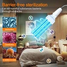 60W AC85V-265V UV Disinfection Bulbs UV Germicidal Lamp E26/E27 Led UV-C Light Bulb Eliminate Viral Bacteria for Family Hotels