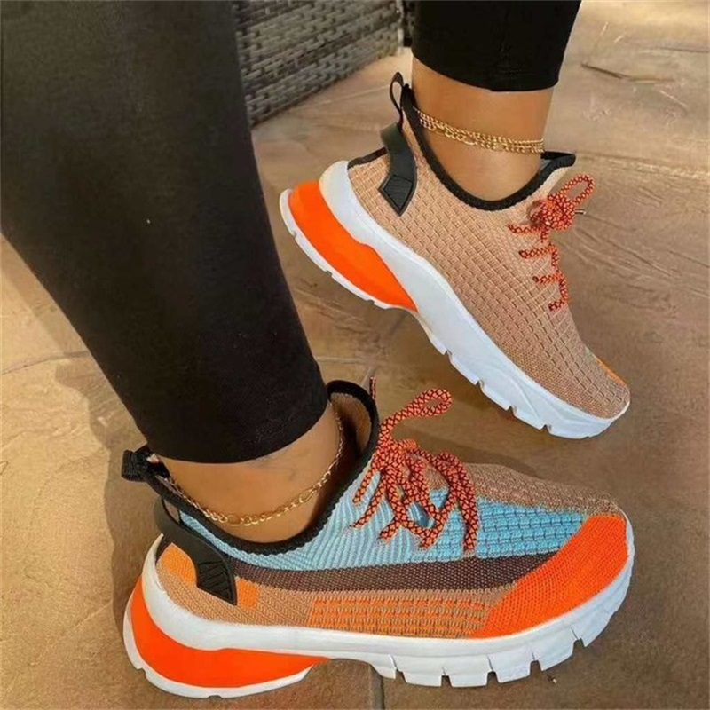 Women Sneakers Shoes Autumn Casual Shoes Lace Up Platform Mesh Sneakers Outdoor Sport Running Shoes Ladies Chunky Shoes|Women's Vulcanize Shoes| - AliExpress
