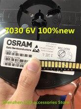 500 Peças/lote PARA Reparar Sony Toshiba Sharp TV LCD LED backlight 6 Seul LEDs SMD 7030 V branco Frio luz diodo emissor de luz 100% novo