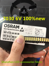 500 adet/grup onarım Sony Toshiba Sharp LED LCD TV arka ışık seul SMD LED 7030 6V soğuk beyaz ışık yayan diyot 100% yeni