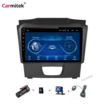 Car Radio For Isuzu D-MAX DMAX 2015-2018 Android 9.0 HD 9 inch Touch screen GPS Navigation Multimedia Player image