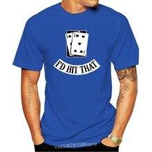 Funny Cards Black Jack Blackjack Gamble Casino Las T Shirt Unique Over Size S-5XL Print New Fashion Normal Cotton Summer Style