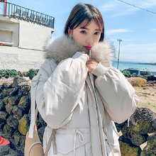 Fashion Winter Snow Hooded Cotton Coat for Women Casual Solid-color Windproof Thick Warm Long-coat Street Loose Hip Hop Top Coat plue size fashion winter snow hooded cotton coat women solid color casual windproof thick warm long coat elegant loose jacket