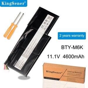 Bateria Do Portátil para MSI BTY-M6K Kingsener MS-17B4 MS-16K3 GS63VR 7RG-005 GF63 Fina 8RD 8RD-031TH 8RC GF75 Fina 3RD 8RC 9SC