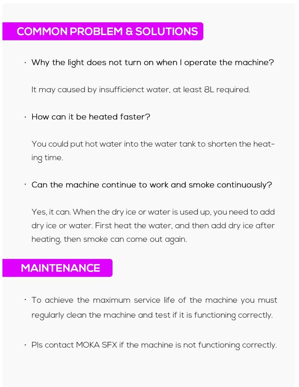 3500W dry ice machine