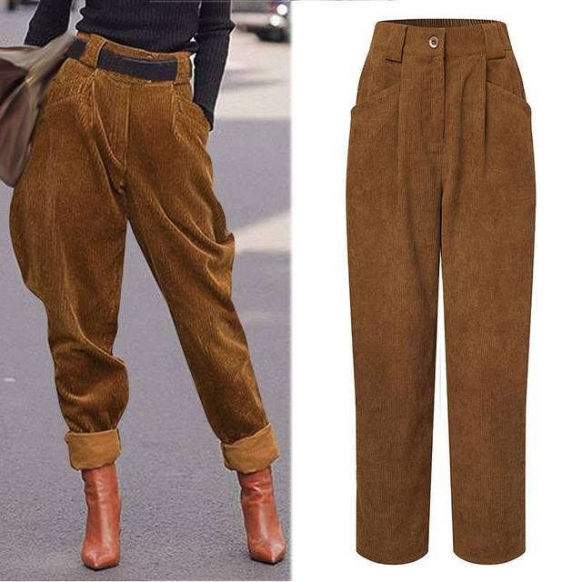 Winter Harem Trousers 1