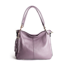 Genuine Leather Women Bag Handbags  Casual Shoulder Messenger Brand Ladies Cowhide Tote sac a main