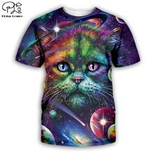 animal tee Tiger/wolf/lion/cat/dog/cow series t shirt men women 3D print sweatshirt harajuku style t shirt suit tops 7XL AN-011 men cow print tee