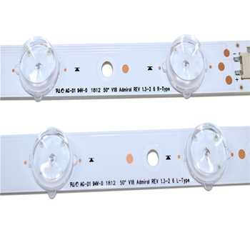 NEW 8pieces/set LED Backlight Strips for LG 50 V18 Admiral REV1.3-2 6 R/ L-type 6916l-3135A /3136A new 8pieces set led backlight strips for lg 50 v18 admiral rev1 3 2 6 r l type 6916l 3135a 3136a