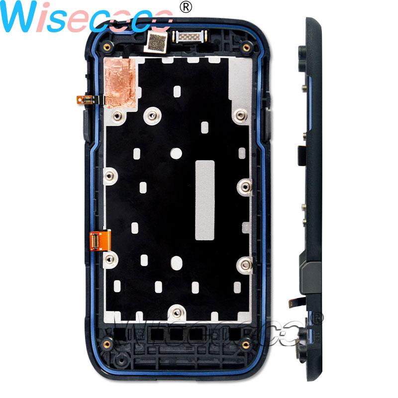 Pour dauphin CT50 LCD Module d'écran avec écran tactile panneau numériseur avec pièces de réparation de cadre de couverture avant