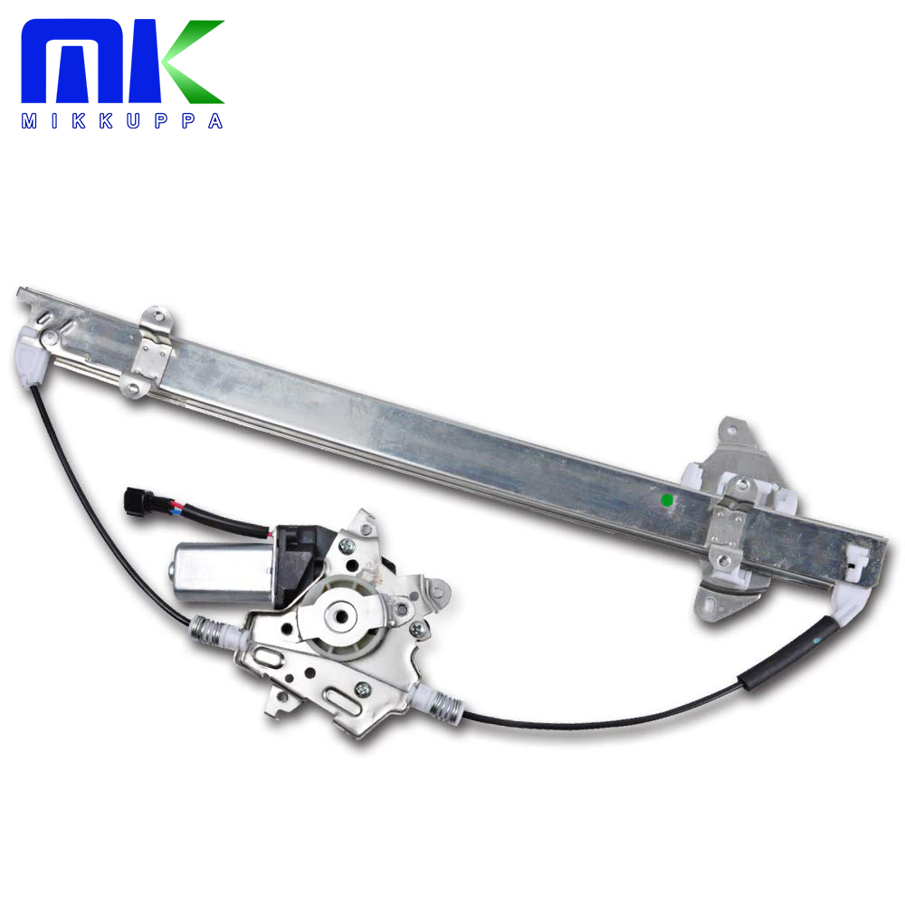 MIKKUPPA Window Regulator Front Right With Motor For Nissan Frontier/Pathfinder/Xterra/Suzuki Equator OEM 80720EA000