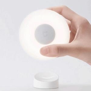 Image 2 - Oryginalny Xiaomi Mijia LED korytarz lampka nocna pilot na podczerwień czujnik ruchu ciała lampa Smar noc w domu