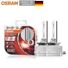 OSRAM D1S lámpara de Hernia de xenón, interruptor láser de noche de próxima generación, faro de coche superbrillante Original HID 35W 12V (2 piezas)