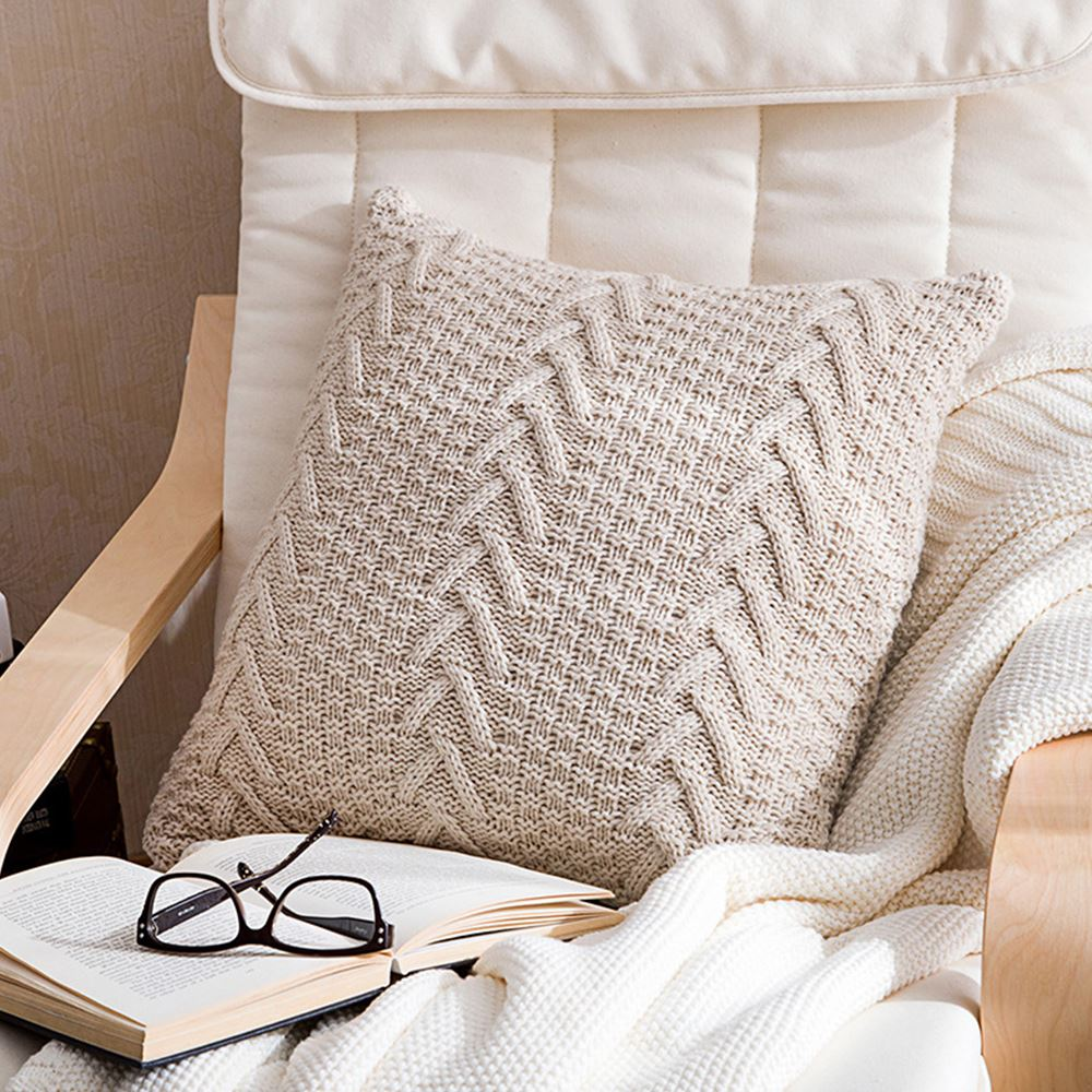Pillow Cover Velvet Breathable Comfortable Square Cushion Cover Home Decor for Living Room Bedroom Sofa Car 45*45 cm Wholesale