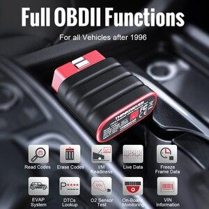 Image 4 - THINKCAR Thinkdriver Professionelle OBD2 Bluetooth für iOS Android Auto Scanner OBD 2 Auto Diagnose Code Reader Automotive Werkzeuge