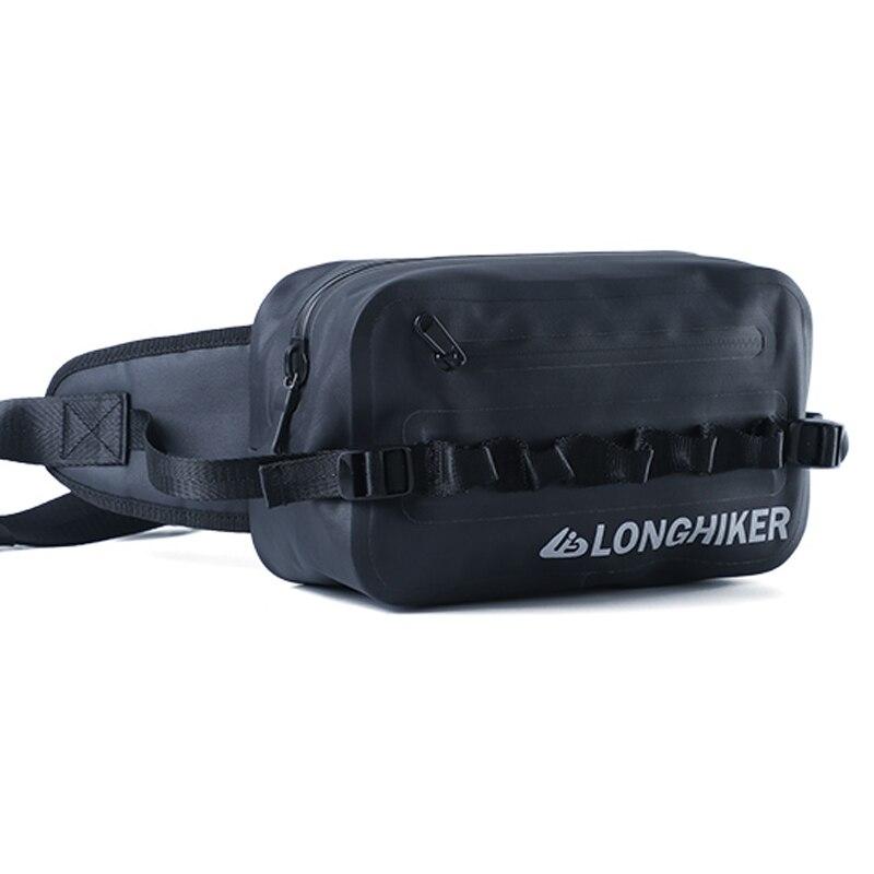 Sac de ceinture étanche à l'air sac de ceinture Fanny Pack pour la navigation de plaisance en plein air randonnée Camping cyclisme plongée escalade course pêche