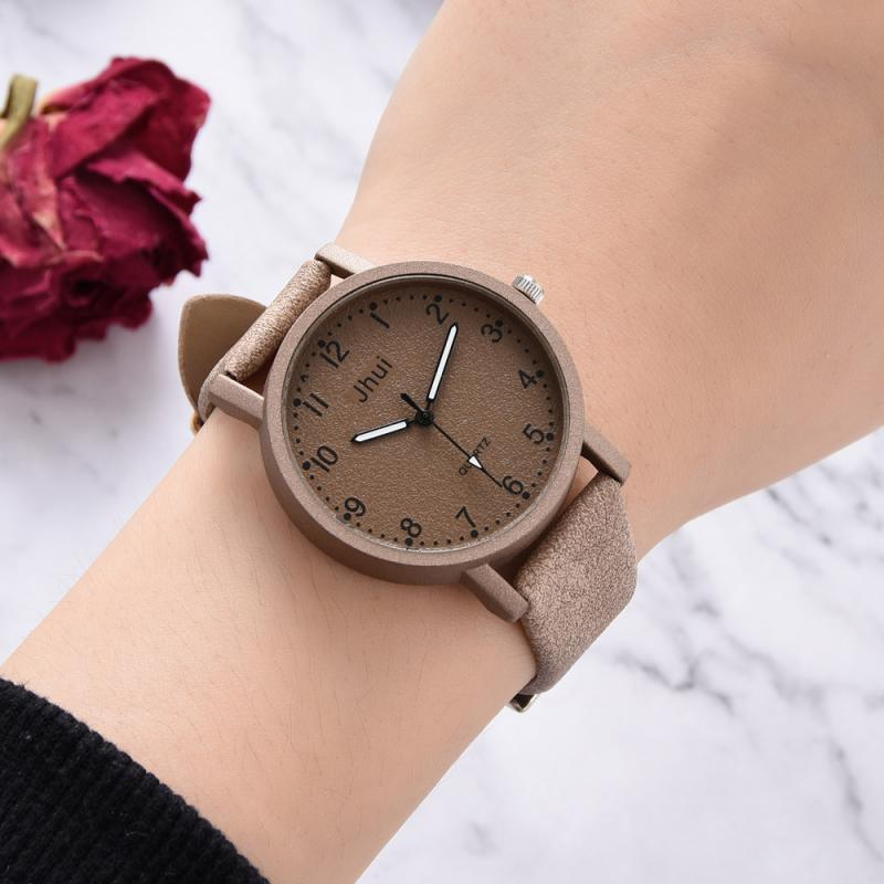 Top Brand Fashion Bracelet Women Watches Contract Leather Numeral WristWatches Women Girl Dress Ladies Quartz Clock Dropshiping