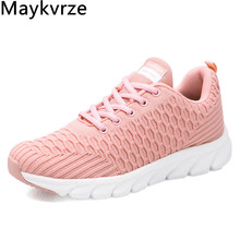 women's shoes Flying woven wild lace-up sneakers fashion Comfortable lightweight Mesh flats girls women casual sports shoes new flying woven mesh breathable women s shoes casual wild lace mesh women s sneakers shoes fashion lightweight casual shoes