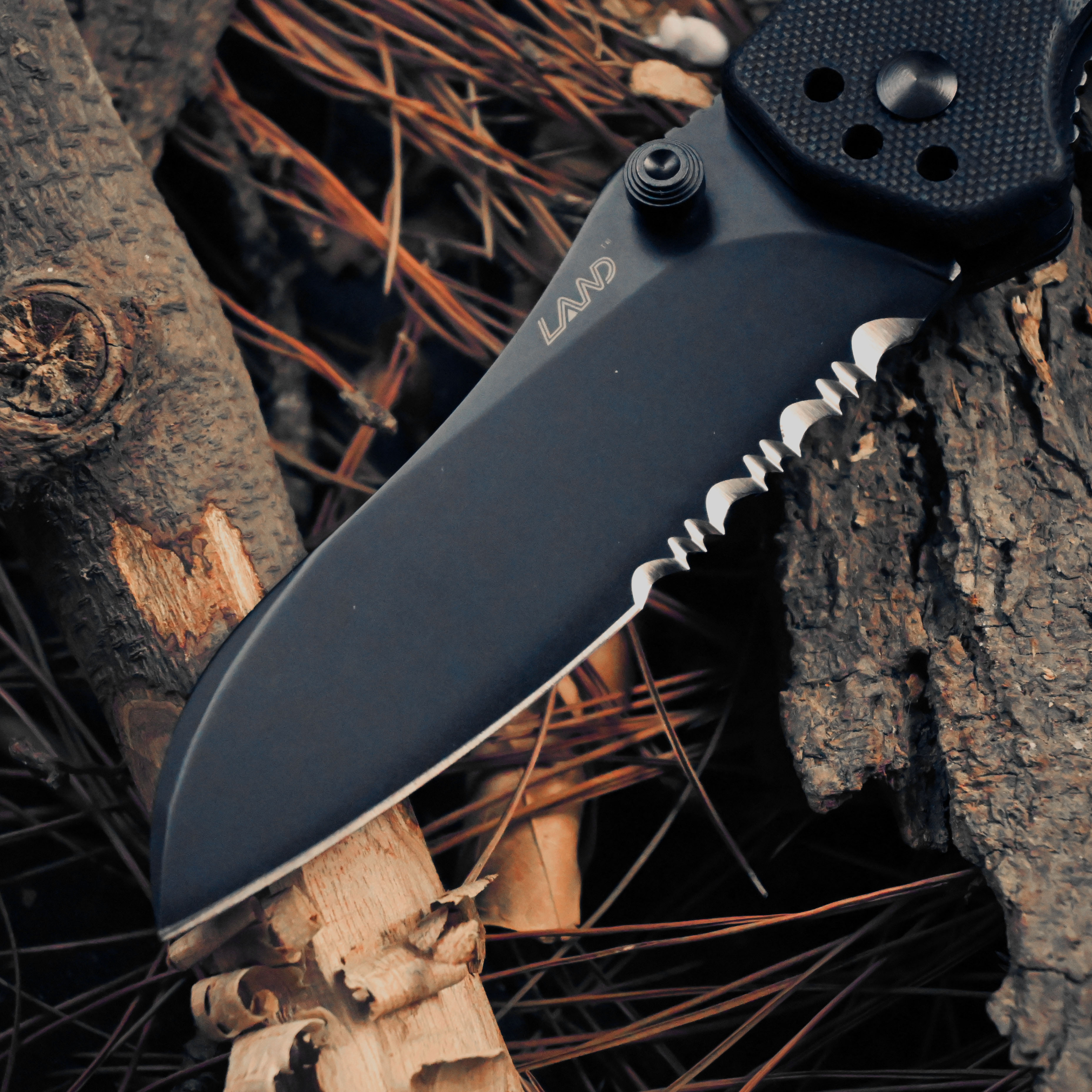 Tools : New Land 913P Folding Knife 8C14 Blade G10 handle Outdoor Tactical Survival Camping Utility Military MultiTool