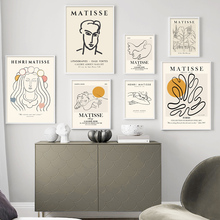 Picasso kobieta drzewo słońce gołąb abstrakcyjna linia płótno artystyczne malarstwo na wystrój salonu Nordic plakaty i druki ścienne zdjęcia tanie tanio CN (pochodzenie) Płótno wydruki Pojedyncze Akrylowe Streszczenie Bezramowe lustra Malowanie natryskowe Poziome Prostokąt