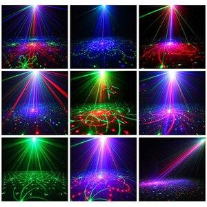 Image 3 - Lumière Laser Disco 5V USB Recharge 60 modèles lampe de Projection Laser rvb spectacle déclairage de scène pour la fête à la maison KTV DJ piste de danse