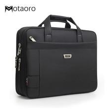 Business Classic Men's Shoulder Bag Work Handbags Men Briefcase Laptop Bags A4 Folder File Carrying Handbag Women Computer Bag