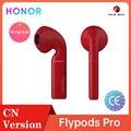 Honor Flypods Беспроводные Наушники Hi-Fi TWS Bluetooth наушники водонепроницаемые IP54 управление касанием Беспроводная зарядка Wireless ع