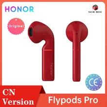 Honor Flypods Draadloze Hoofdtelefoon Hi-Fi Tws Bluetooth Hoofdtelefoon Oortelefoon Waterdichte IP54 Tap Controle Draadloze Lading سماع