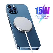 Wireless-Charger Magnetic-Adsorbable Suction-Charging-Adapter Usb-C Mini iPhone 12 15W