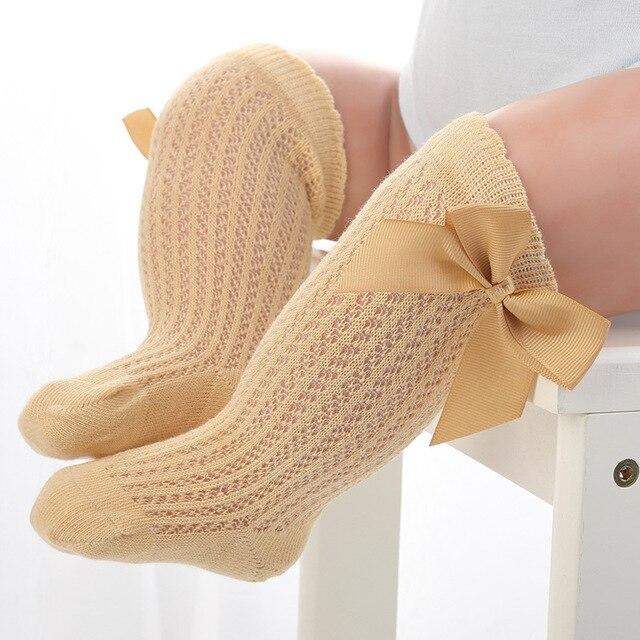EU30 Girls /& Boys 3//4 Knee High Spanish Style Pex 2 Pk Socks UK Sz NB -12 EU15