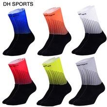 Компрессионные велосипедные спортивные носки для женщин и мужчин, новинка, противоскользящие летние велосипедные спортивные носки для мужчин