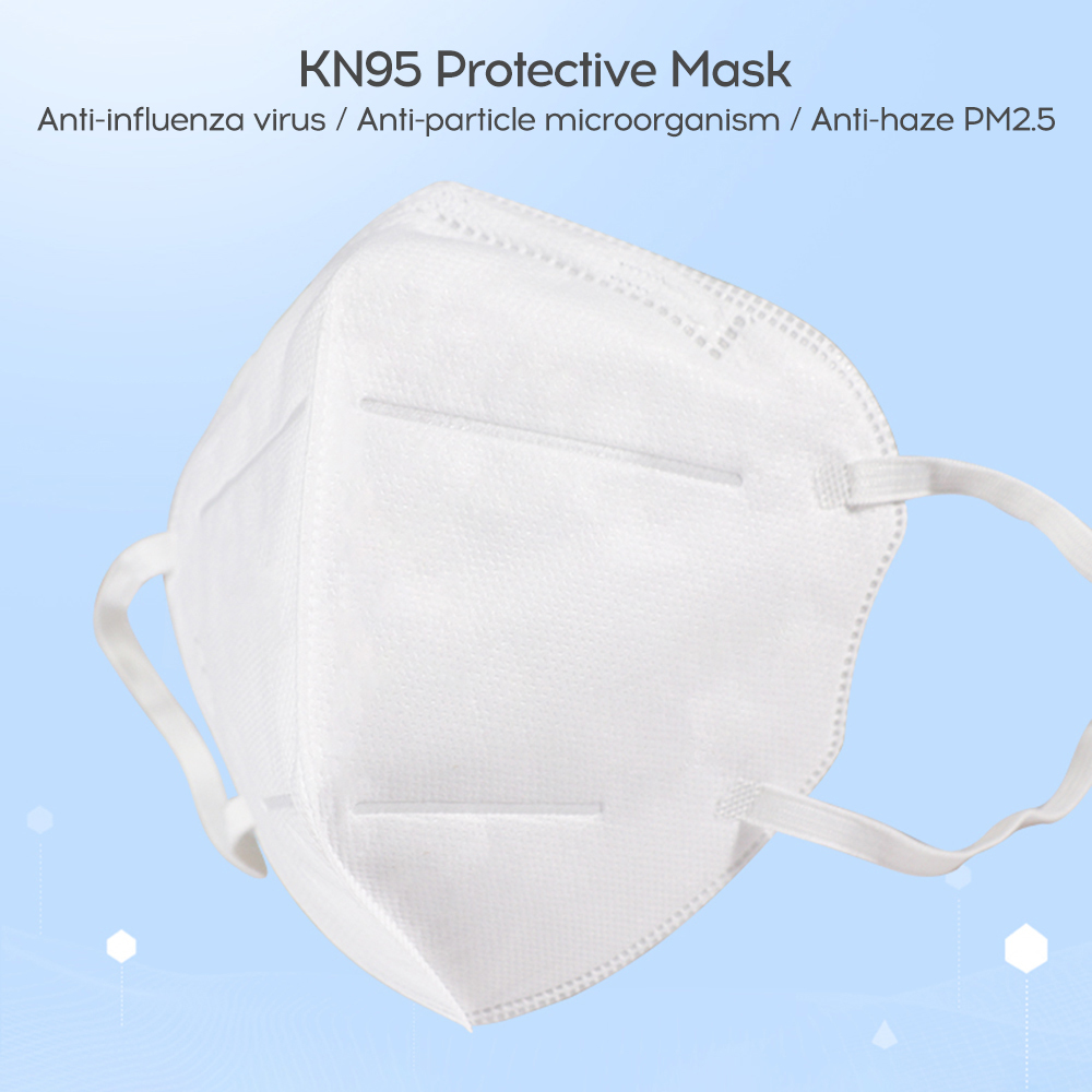 In Stock  anti virus Mask  50Pcs PM2.5 Disposable Elastic Mouth Soft Breathable Face Mask N95 5