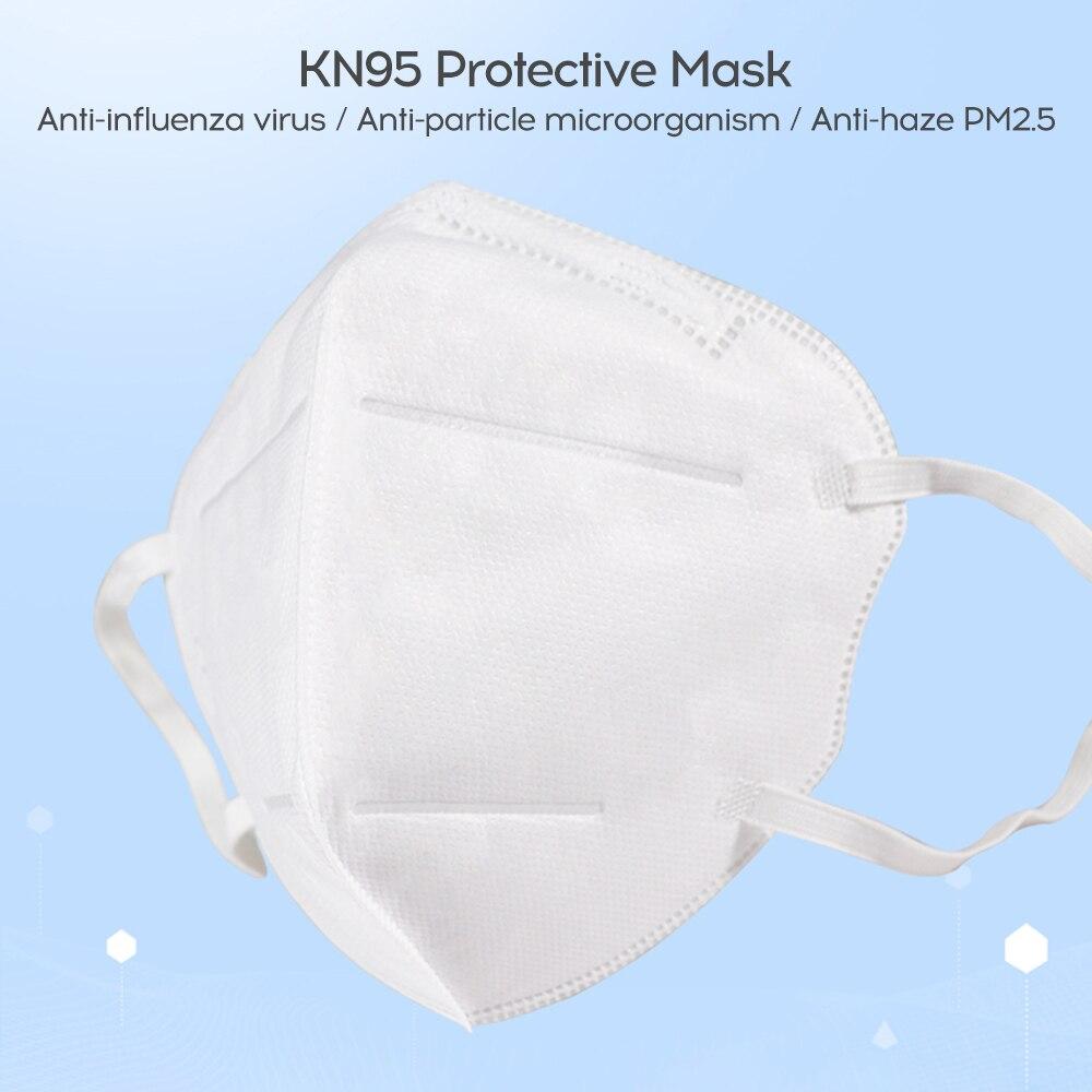 Image 5 - В наличии Профессиональная Медицинская Антивирусная маска 50 шт.  медицинская хирургическая PM2.5 одноразовая эластичная мягкая дышащая  маска для лица N95Маски   -