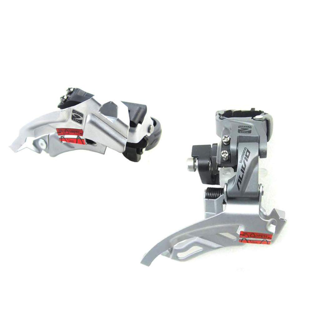 Alivio FD M4000 T4000 9 speed bike Front Derailleurs 9s MTB Bike Mountain Bicycle Parts for 3x9S 27S Speed-in Bicycle Derailleur from Sports & Entertainment