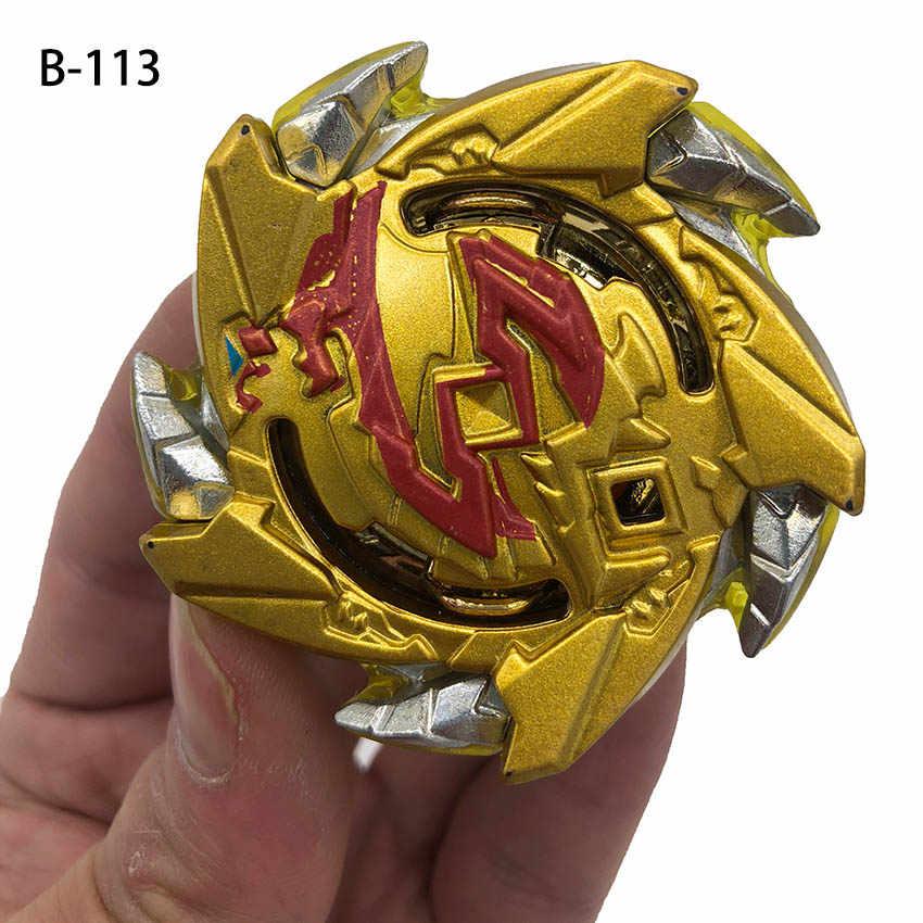 Lanzadores de ráfaga Beyblade gold B113, juguetes GT Burst para bebés, Toupie Bayblade, fusión de metales, camisetas God Spinning, juguete Bey Blade