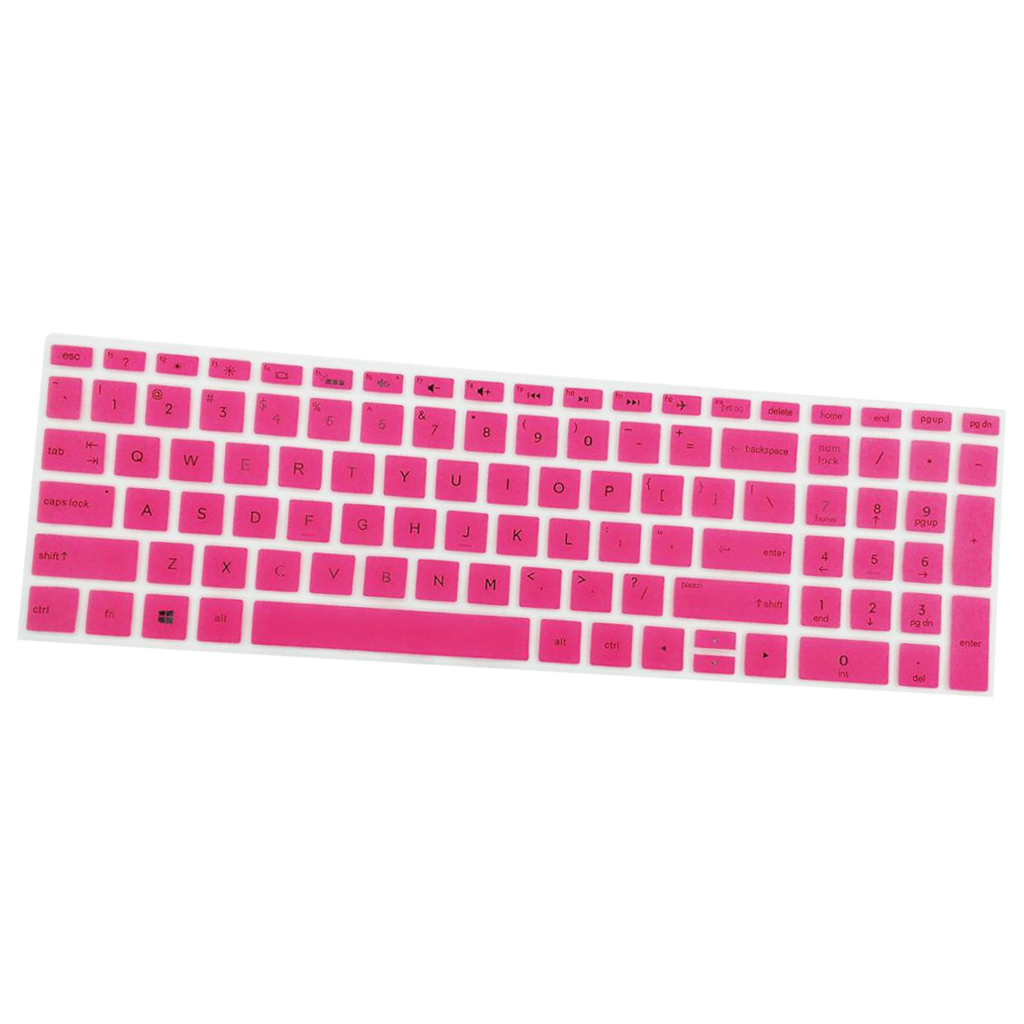 Hight Quality Notebook Keyboard Stickers Skin Cover Keycaps for HP 15.6''BF Laptop soft Silicone-1