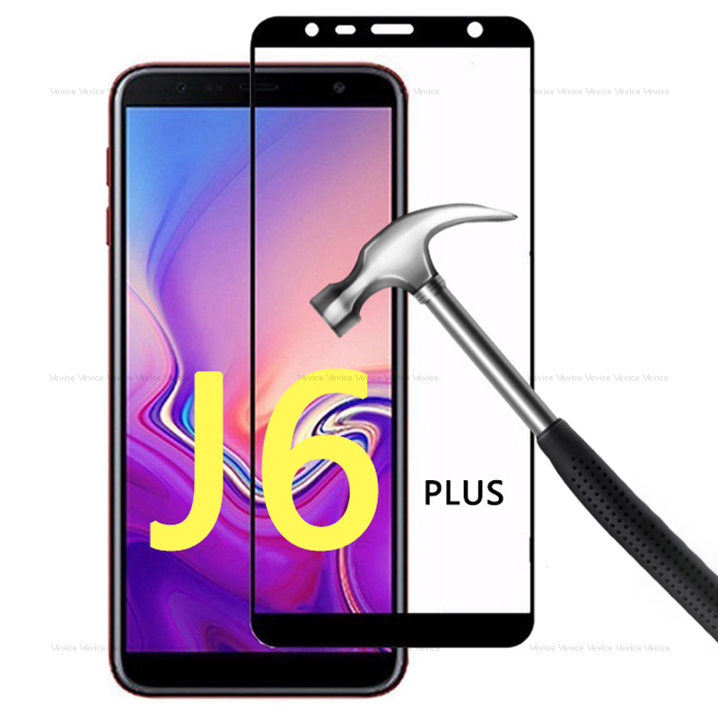 Tempered Glass For Samsung Galaxy J6 2018 Sm-j600f/ds Full Cover Glass For Samsung J6+ J 6 J6 Plus 2018 Sm-j610f Protective Film