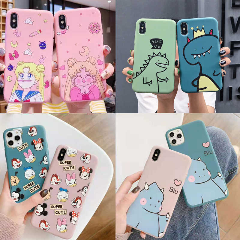 Cartoon Dier Sailor Moon Siliconen TPU Telefoon Case Voor Huawei P30 P20 Honor 10 10i 9x 8x Mate 20 10 pro Nova 3 3i 4 Case Fundas