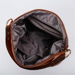 Image 5 - Vintage Bolsas podręczne torebki ze skóry damskie torebki damskie 2019 luksusowe torebki damskie torebki projektant Casual Tote Sac A Main