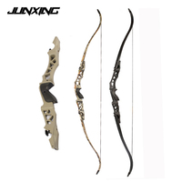64 Inch Recurve Bow 30-60lbs Aluminum Alloy ILF Riser Takedown Bow with Arrow Rest for Right Hand User Archery Hunting Shooting