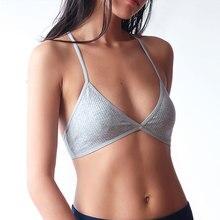 Cotton Bra Brassiere Light-Weight Underwear Intimates Back-Lingerie Criss Wire-Free Breathable