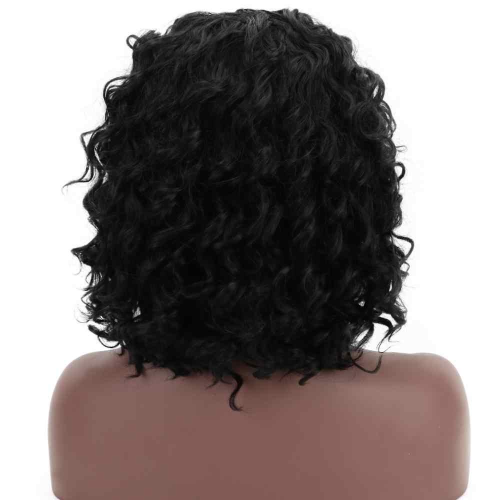Free Beauty, perruque synthétique ondulée ombrée longue, noire, Blonde, avec frange en T Part pour femmes, maquillage quotidien, Cosplay 1970s