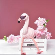 1 pc 37cm Plush Flamingo Toys Stuffed Bird Soft Doll Pink Flamingo Kids Toys Wedding Gift for Children High Quality Dropshipping