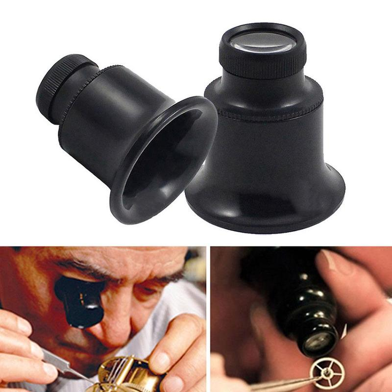 Hot <font><b>Watch</b></font> Eyes 20X Jeweller Optical Glasses Magnifier Jeweler <font><b>Watch</b></font> <font><b>Repair</b></font> Eye Glasses Optical Lens Magnifier Loupe <font><b>Tools</b></font> image